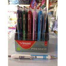 Ручка Vinson, Premier, корпус ассорти, 1шт-80тг