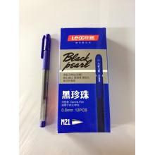 Ручка Black pearl, M21, гелевый, синий, 1шт-55 г
