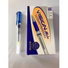Ручка Baipai, Vision Jell, 0.7mm, гелевый, синий, 1 шт-85тг