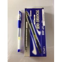 Ручка Tough Gel, GP-888, 0.5mm, гелевый, синий, 1шт-85тг