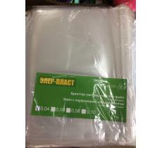 Файл с перфорацией для документов, А4,  Элер-Пласт, 100шт в упаковке, 40 мкм
