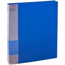 Папка на 2-х кольцах Berlingo Standard, 40мм, 700мкм, синяя