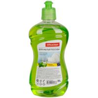 """Средство для мытья посуды OfficeClean """"Алоэ и зеленый чай"""", пуш-пул, 500мл"""