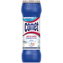 """Средство чистящее Comet """"Утренняя роса"""", порошок, без хлоринола, 475г"""