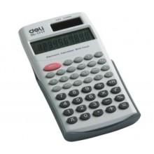 Калькулятор инженерный, 10 разрядов, 156х81х15 мм, DELI