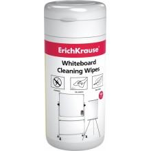 Чистящие салфетки для магнитно-маркерной доски, 100шт, ERICH KRAUSE