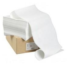 Бумага ЛПУ 210мм,610м  перфобумага 1400 лист 80г/м2