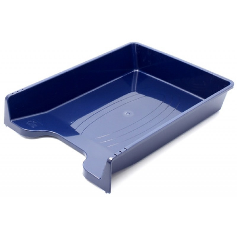 FORPUS Лоток горизонтальный пластиковый,синий