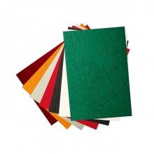 Обложка для переплета, А4, 250 мкм, белый, под кожу, картон,100шт