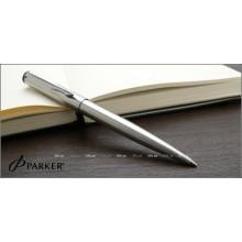 Пер.ручка Vector Std White, F, бел. лак, отд. нерж.сталь