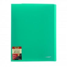 Папка с пружинным скоросшивателем,  А4, зелёная, 0,60мм