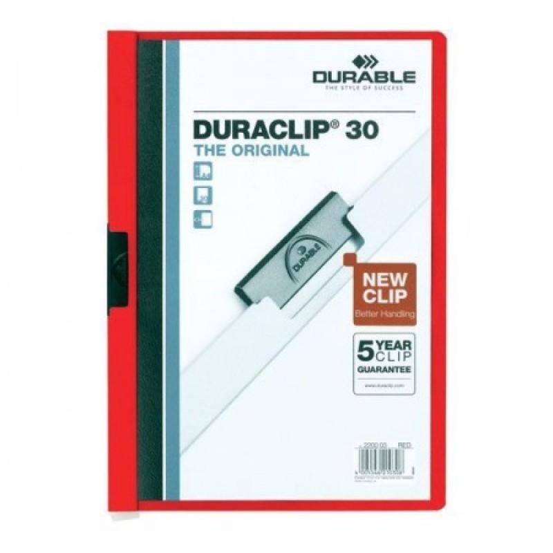 Папка Duraclip original 30 красная