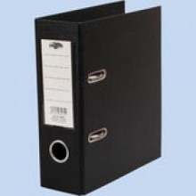 Папка-регистр А5, 8 см (черный)