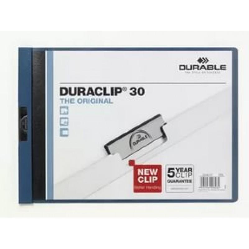 Папка Duraclip original 30 голубая