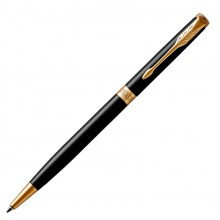 Рол.ручка Parker 100, черный кобальт, М, синий стержень