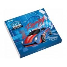 """Пластилин, 10 цв. Racing"""" 200 г. в картонной упаковке"""