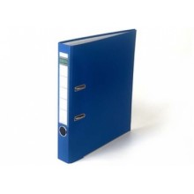 Регистратор, 5см, синий, А4, ПВХ