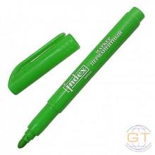 Маркер перманентный, зелёный, 1-4мм, кругл. наконечник. INDEX