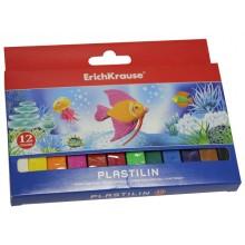 Пластилин, 8 цв*15гр, для детей, европодвес, ERICH KRAUSE