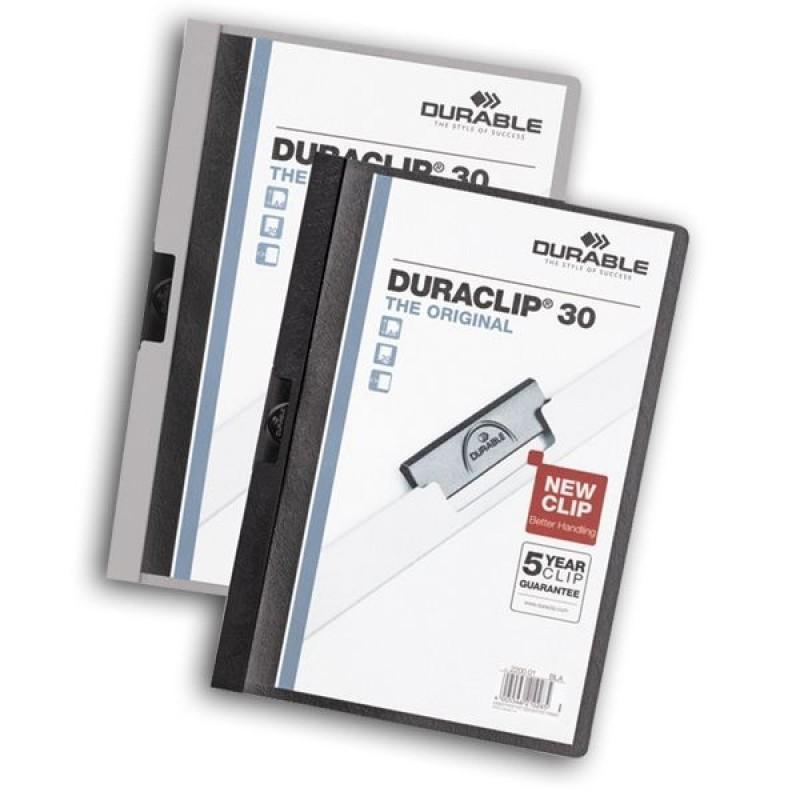 Папка Duraclip original 30 белая