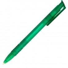 Ручка шариковая, синяя, 0,7 мм, автомат, корпус зелёный. SPONSOR