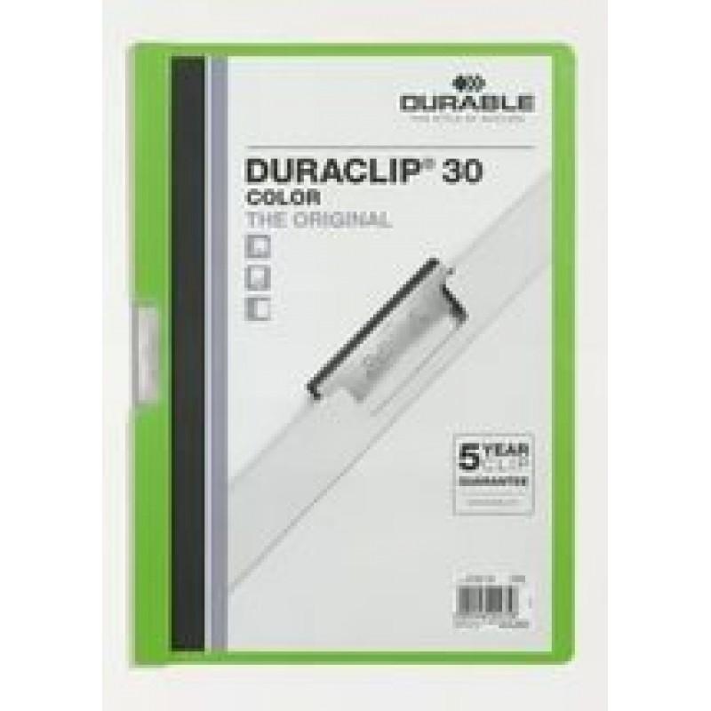 Папка Duraclip original 30 зеленая