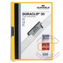 Папка Duraclip original 30 желтая