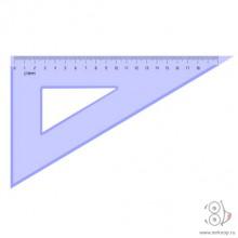 Треугольник 18,5 см