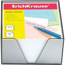 Блок бумаги для записи, 9*9*5, в подставке, белый, ERICH KRAUSE