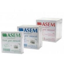 "Блок бумаги ""ASEM"" 8х8х3см, белый"