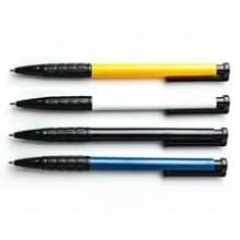 Ручка шариковая, автомат, синяя, 0.7мм, DELI