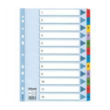 Разделитель картонный, А4, А-Z, DELI