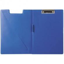 Папка короб, А4, пластик,с кармашком для визитки, 0,7мм, DELI