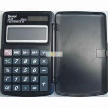 Калькулятор карманный UNIEL UK-15K, 8 разрядный, размер 117*73*10 мм.
