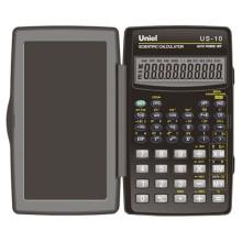 Калькулятор инженерный Uniel US-10, 8 разрядов мантиссы+2 разряда экспоненты, 120*72*12 мм.