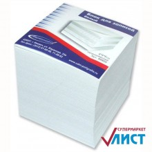 Блок бумаги для записи 8*8*8, белый, 80 гр., ASEM