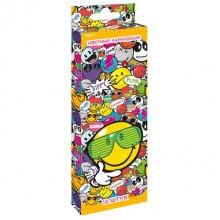 """Карандаши цветные, 18 цв. в наборе, Smiley"""" в картонной коробке с европодвесом"""