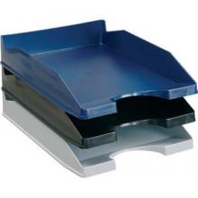 Лоток для бумаг горизонтальный, пластик, ассорти, DELI