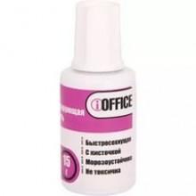 Корректирующая жидкость с кисточкой 15гр., морозоустойчивая