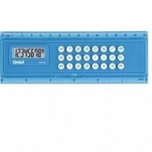 Калькулятор - линейка, 8р, двойное питание, 156x56x11мм
