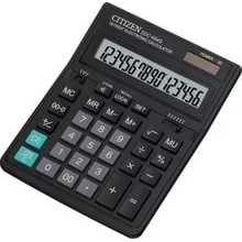 Калькулятор карманный, 12р, двойное питание, 103х67х10 мм