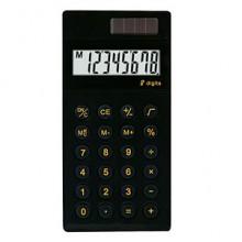 Калькулятор карманный, 8р, двойное питание, 99,5х57х10,5 мм