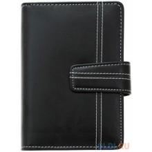 Записная книжка, 42*35*29см, искусственная кожа, черный DELI