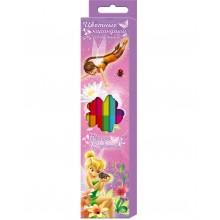 """Карандаши цветные, 12 цв. в наборе, Феечки"""" в картонной коробке с европодвесом"""