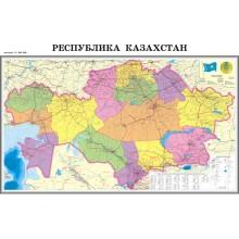 Карта-Схема РК и г. Астаны