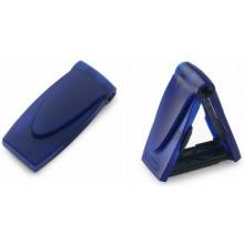Карманный штамп , прозрачный синий