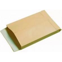 Конверт С4, 229*324мм, белый с силикон. лентой, 90гр, INDEX