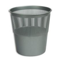 Корзина для мусора офисная, сетка, диаметр 26 см, пурпурная, DELI