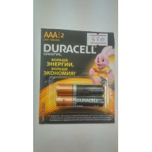 Батарейка AAA Астана Duracell 2 шт. в упаковке
