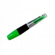 Маркер текстовой, зелёный, скошенный наконечник, 1-5 мм, прорез.полупр. корпус
